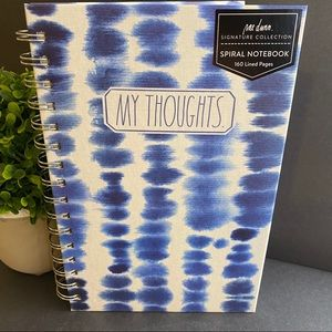 RAE DUNN My Thoughts Spiral Notebook